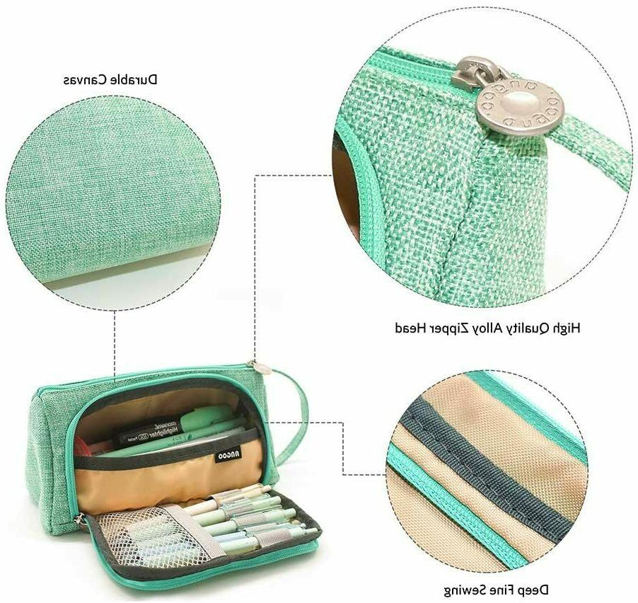 Large Capacity Pen Bag for Student Storage Case