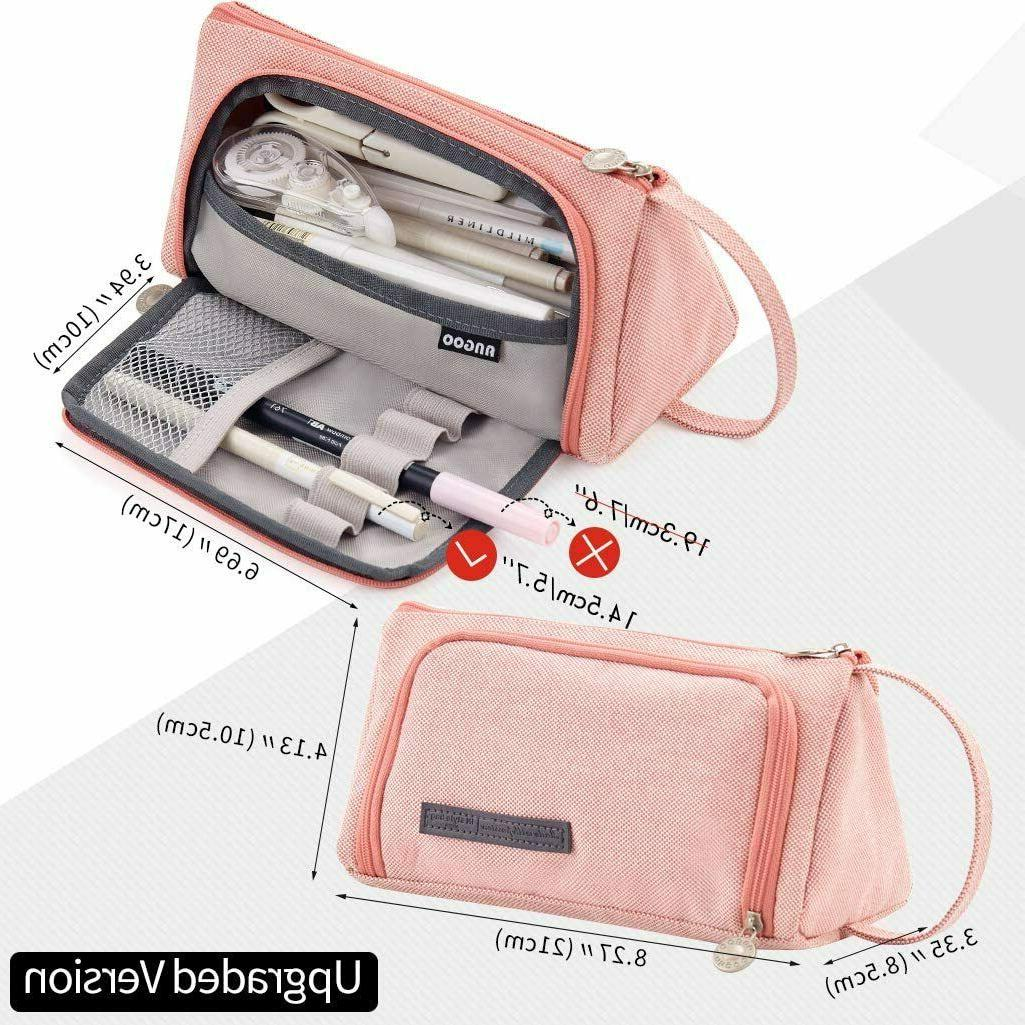 Large Capacity Pen Bag Pouch for Student Office Case
