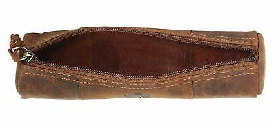 Leather - Zippered Case School, by Rustic