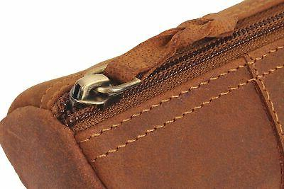 Leather Pencil Zippered Pen Case School, Work & Office by Rustic ...