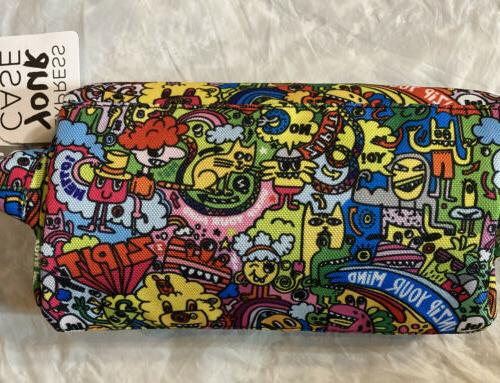 ZIPIT Lenny Pencil Case, Doodles