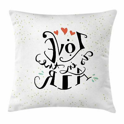 love throw pillow cases cushion covers accent