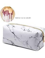 marble bag portable pouch brush
