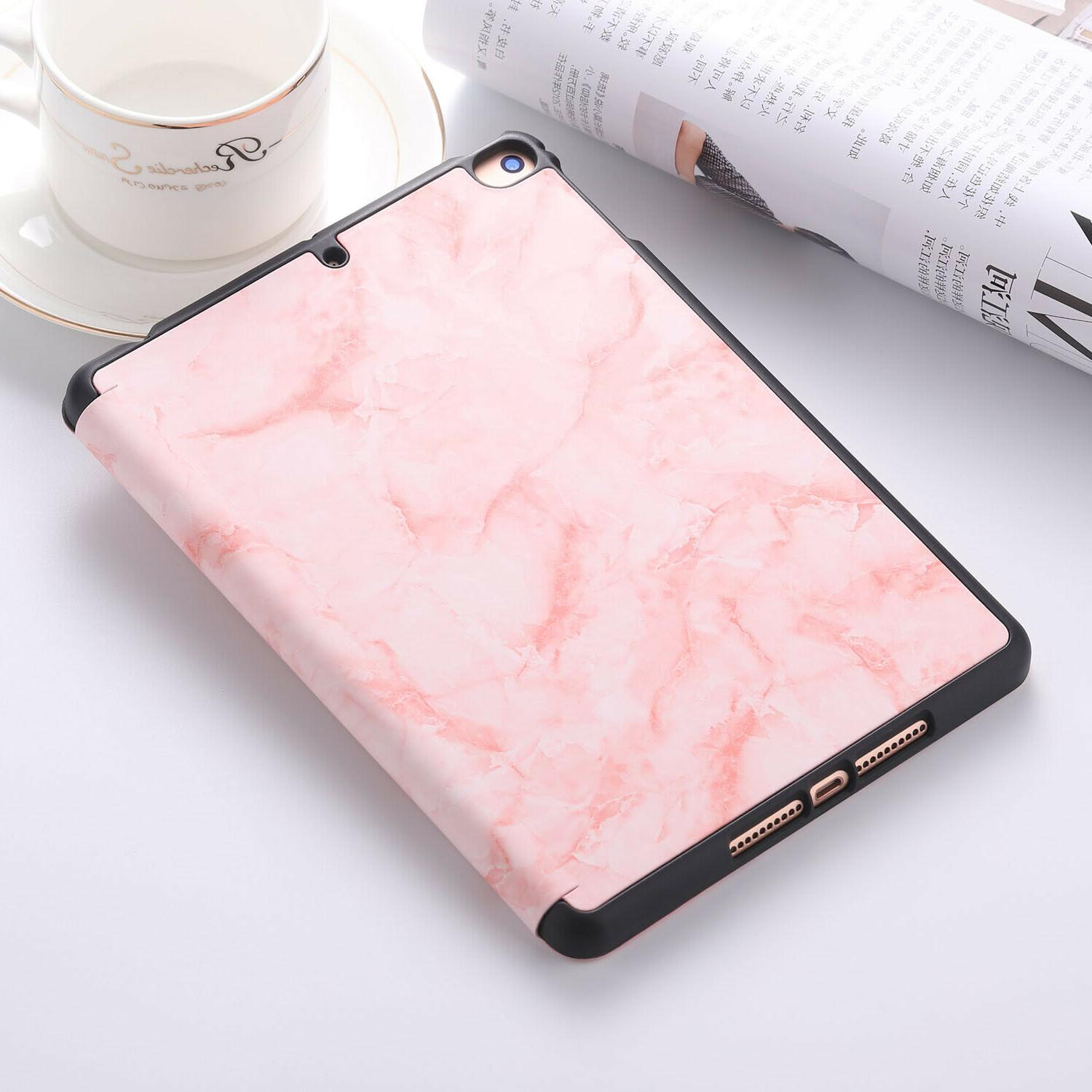 """Marble Shockproof Pencil Case Cover 10.2"""" Pro"""