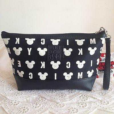 mickey mouse cosmetic make up bag accessory