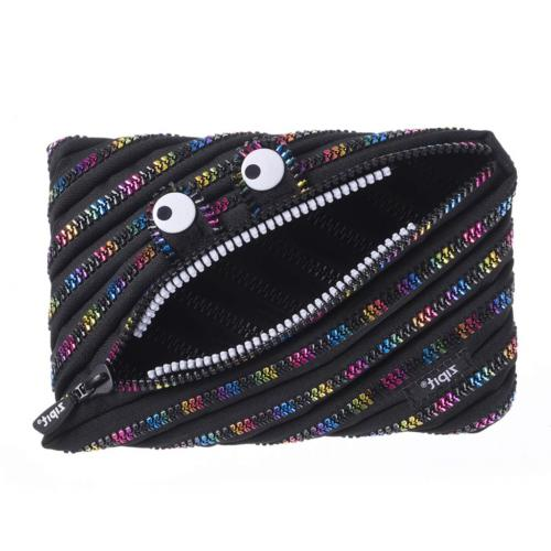 ZIPIT Monster Jumbo Pencil Case, Special Edition Black & Rai