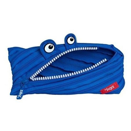 Monster Pencil Case, Royal Blue New By ZIPIT