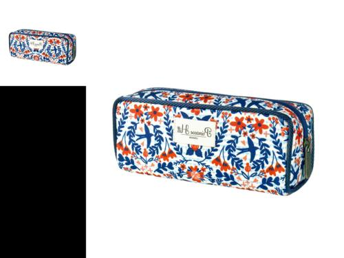 nautical birds collection cosmetic pencil case