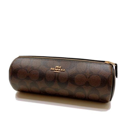 new coated canvas makeup brush pouch holder