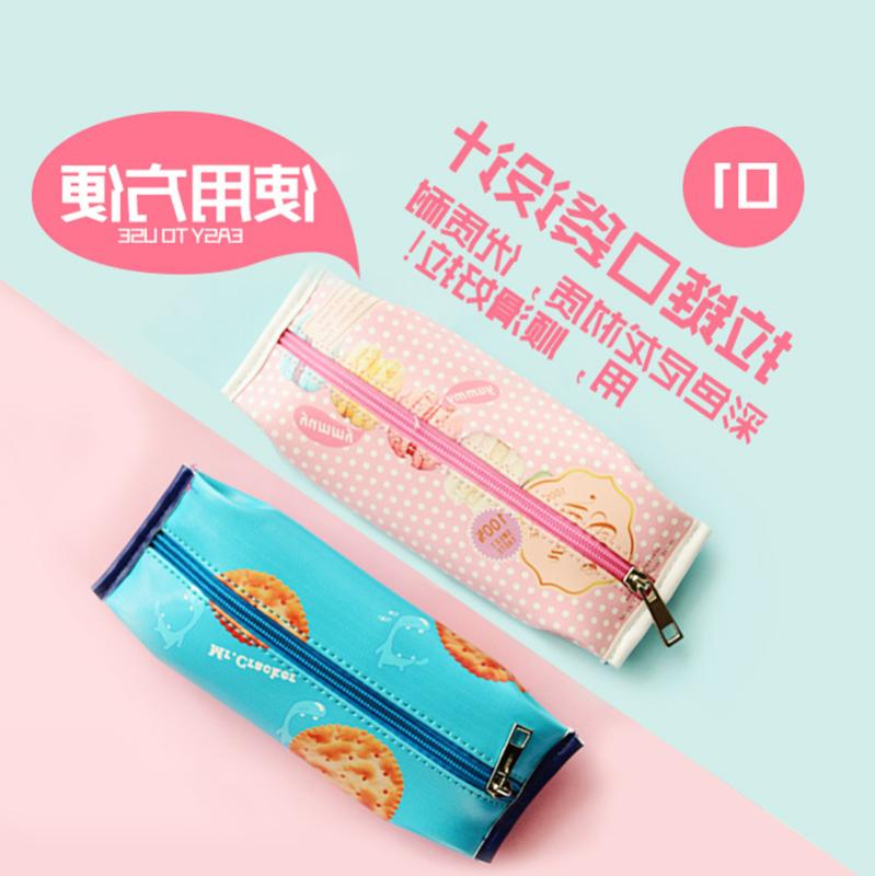 New Simulation Cartons Pencil Case Stationery Pouch