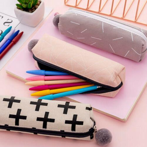New School Pencil Case Make-up Small Wallet