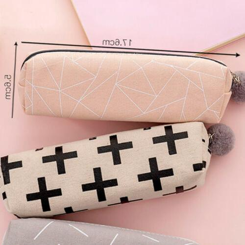 New School Case Women Make-up Small Wallet