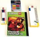 Lego Ninjago Pencil Case Gel Pens Composition Book Erasers S