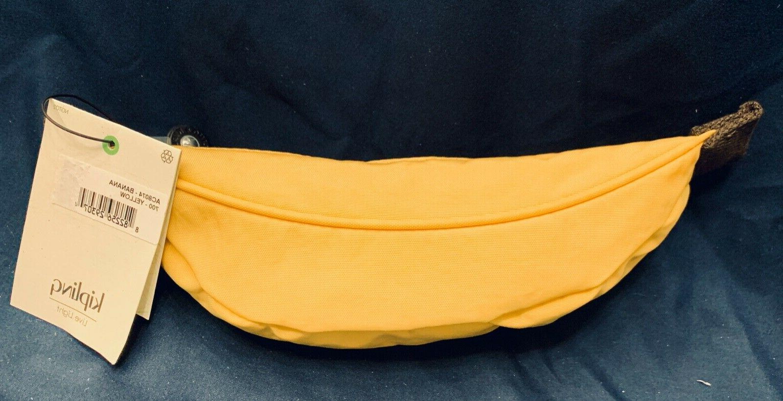 NWT Banana Pencil Case Retail