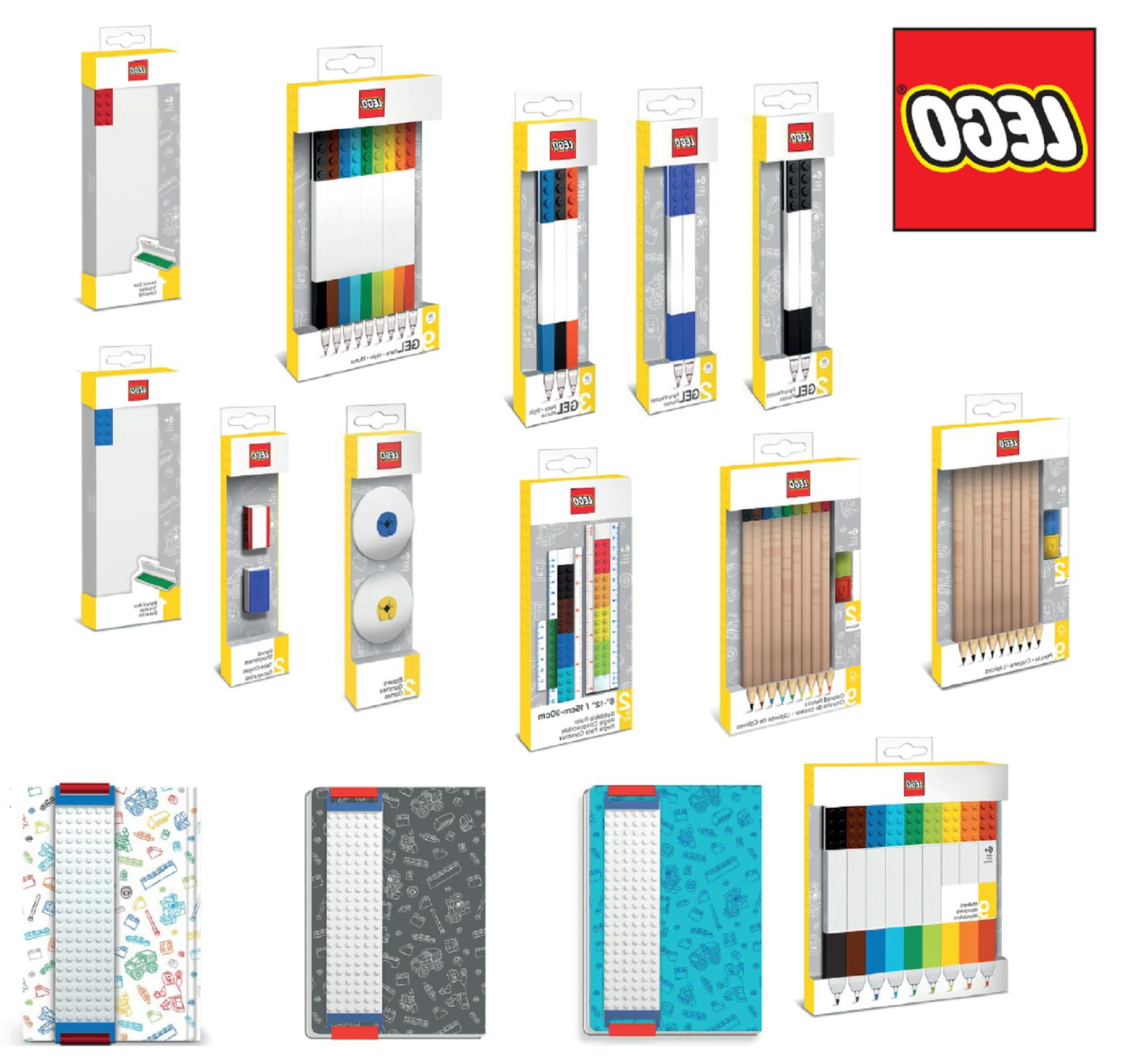 Official Lego Premium Stationery School Work Office Buildabl