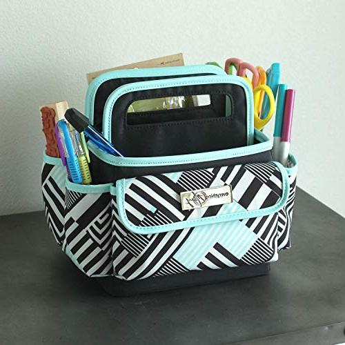 Everything Papercraft Storage Tote for Office, and Craft Organization Scissors, and Office