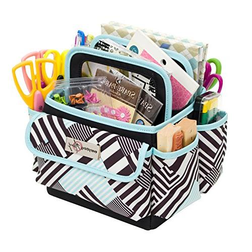 Everything Mary Papercraft Storage | Organizer for Office, and Supplies Organization for Paper, Scissors, and Office