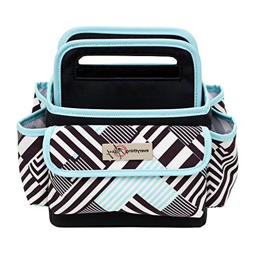 Everything Mary Desktop Storage Tote | for Home, Office, and Craft Organization Scissors, Clips, and Office