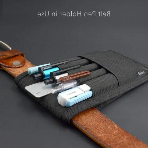 Pen Holder Pouch Attached Hold Pens Ruler