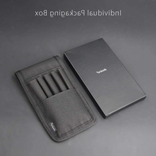 """Pen Marker Pouch Holster Attached Hold Pens 6"""" Ruler"""