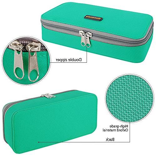 Homecube Capacity Pen Organizer with School Office - inches,Green