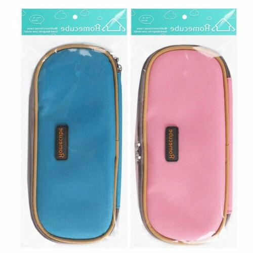 Homecube Pencil Cosmetic Makeup Bag Travel School Storage US Stock