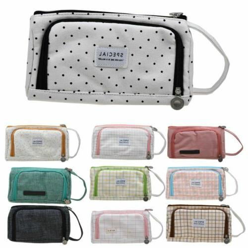 Pencil Case Large Capacity Cosmetic Bags