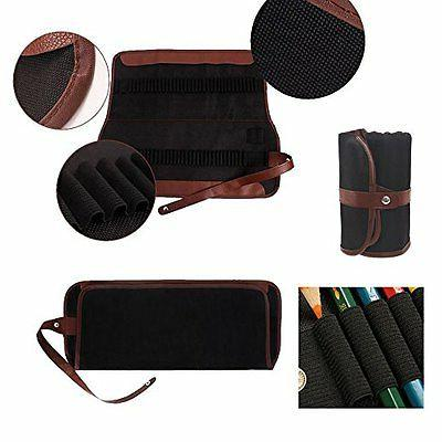 72 Leather Storage Art Drawing Supplies Painting