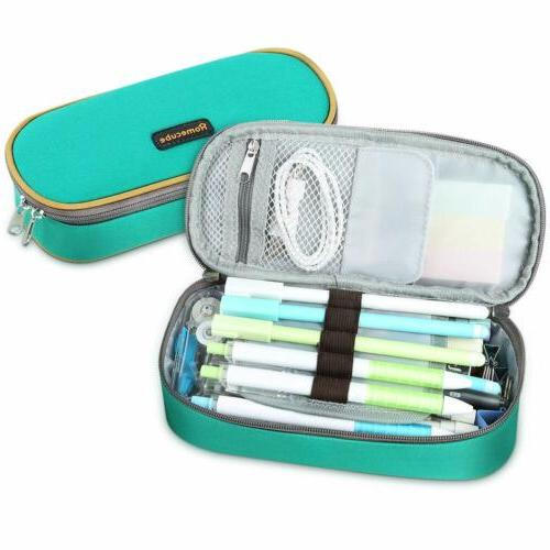 Homecube Pencil Case Big Capacity Pen Box Makeup Pouch Stude