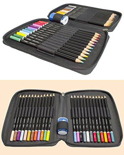 ColorIt Colored of Premium Case and - Perfect Coloring For Adult Coloring Books with bright colors