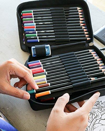 ColorIt Colored Pencil of 72 - Case, Pencil and Gift Box Coloring Coloring with colors