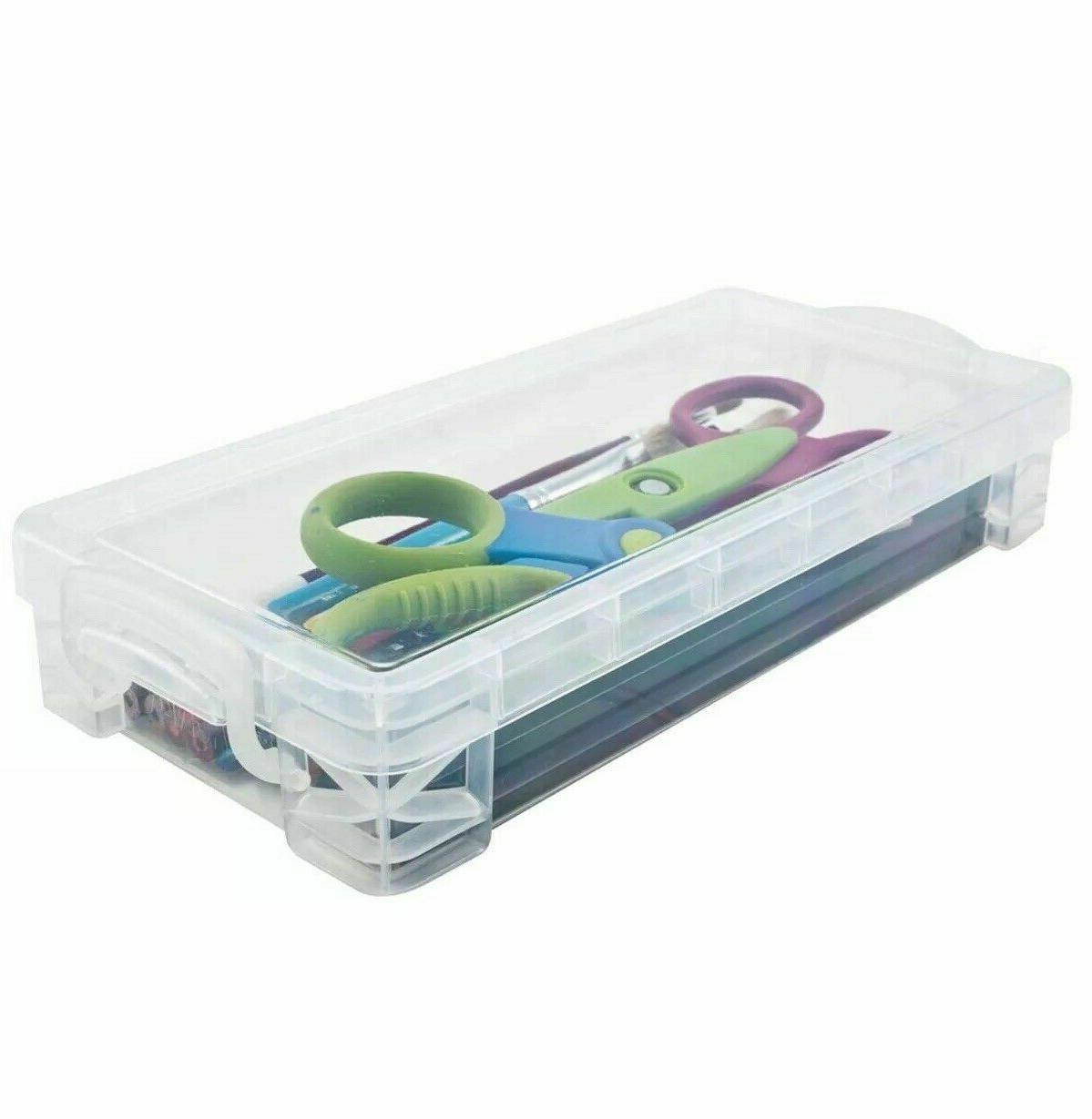 Plastic Box Kids Office Art Craft Organizer