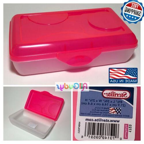 plastic pencil box case kids school office
