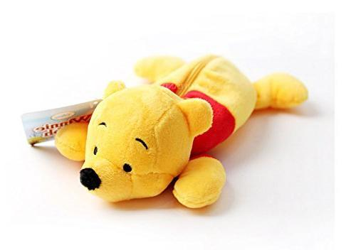 pooh pen pencil case zipper