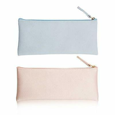 pu leather pencil cases pouch bag