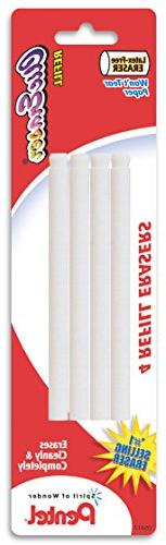 Pentel Refill Eraser for Clic Eraser, Pack of 4