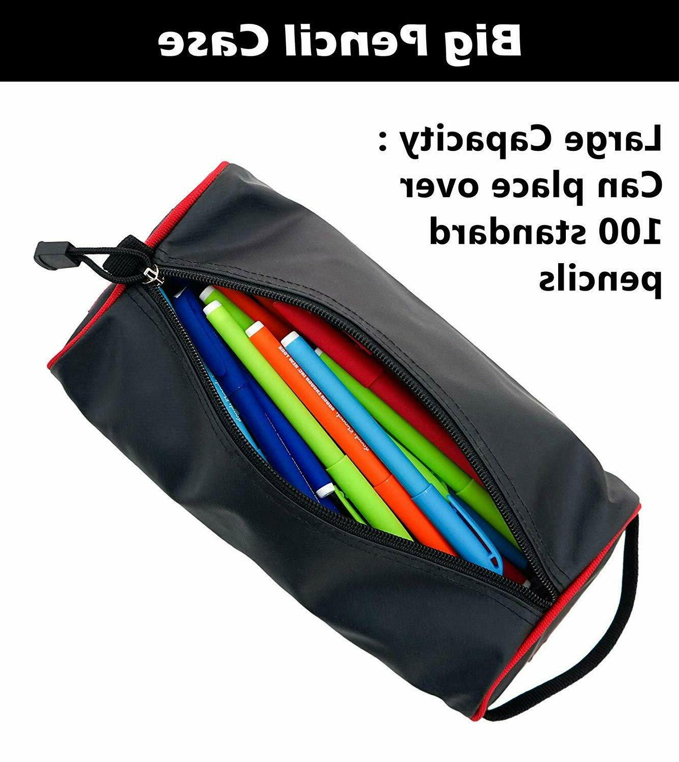 Rough Big Pencil Case Zipper Art Case Tool