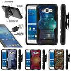For Samsung Galaxy Grand Prime G530 Clip Stand Case + Temper