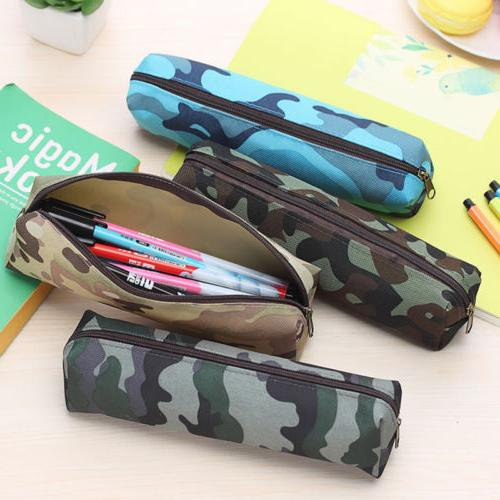 School Large Pencil Case Student Boys Girls Pen Bag Cosmetic