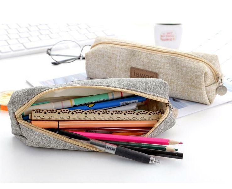 Simple Style Pen Bag Pouch Bag