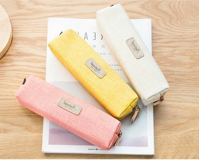 Simple Case Pen Bag Pouch Brush Bag