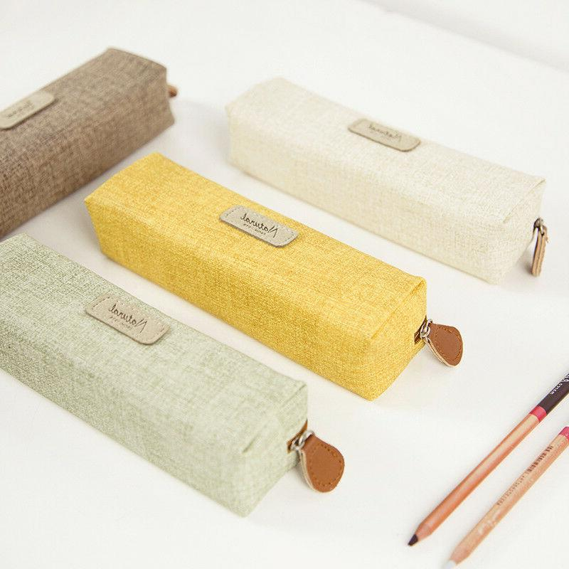 simple style pencil case pen bag box