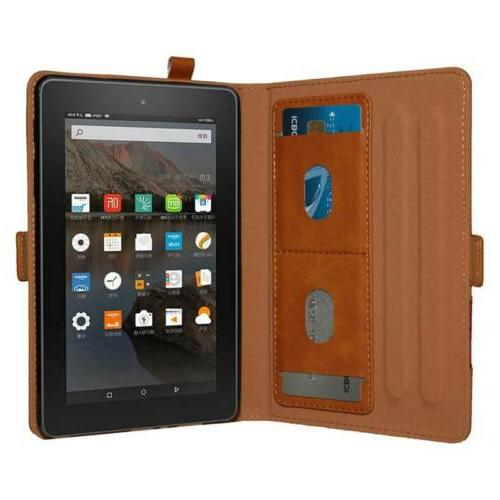 Smart Leather with Holder For Amazon Kindle 2019