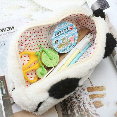 Soft Cosmetic Makeup Cartoon Storage Bag Pen Case RS