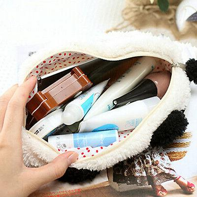 Soft Makeup Cartoon Storage Pen Pencil Case RS