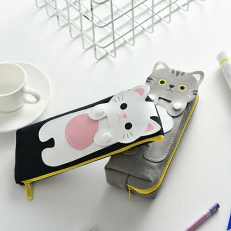 Stationery Girl Pouch Makeup Pencil Case