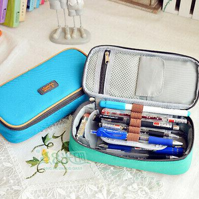 Student Canvas Pencil Storage Bag