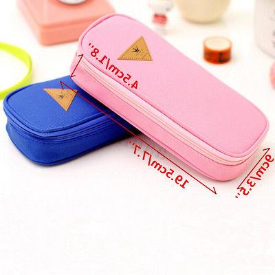 Student Case Pen Travel Makeup Holder Bags
