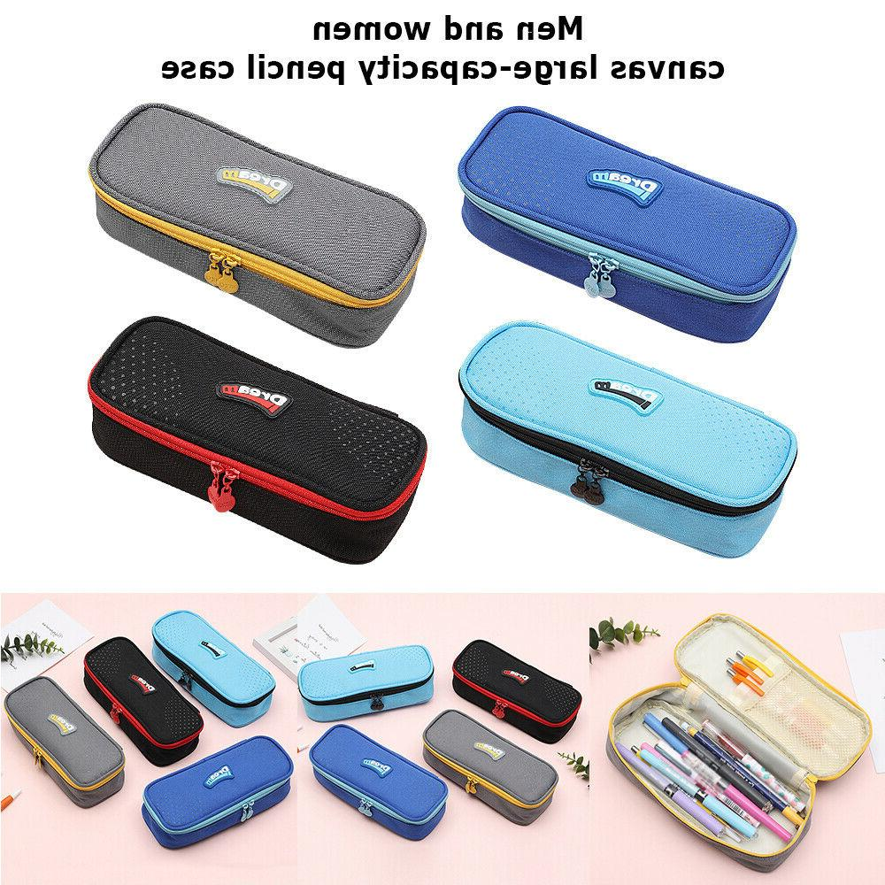 Pencil Case Student Big Capacity Pen Box School Desk Organiz