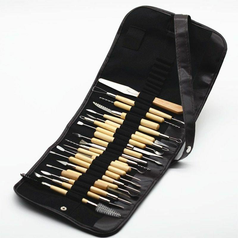 Pouch Colorful Storage Material Art Pen